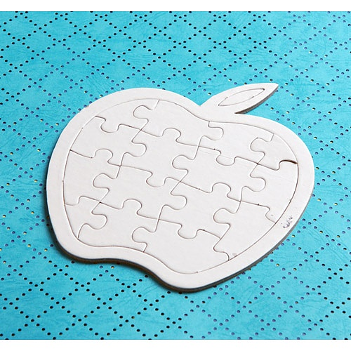 과일모양 퍼즐-사과