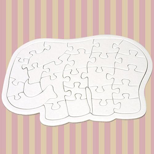 동물모양 퍼즐-코끼리